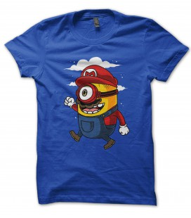 Tee Shirt Super Minion Bros, le mix!