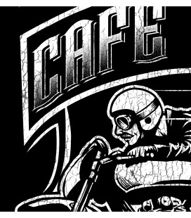 Tee Shirt Femme Freedom Wheels, Cafe Racer by HellHead 100% BIO
