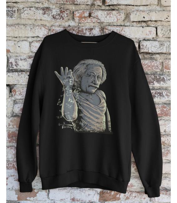 Sweat Shirt Einstein Salt Bae, le Génie des formules