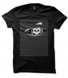 T-Shirt La Faucheuse t'observe. 100% coton Bio