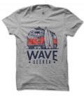 T-Shirt Wave Seeker Pacific Rider Surf 100% coton Bio