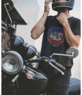 T-Shirt American Pride, Biker , 100% coton Bio