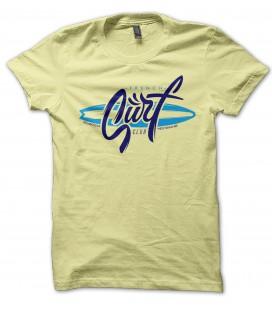 T-Shirt French Surf Club, Atlantique , Méditerranée