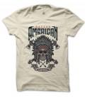 T-Shirt Native American, Spirit of Nature 100% coton BIO