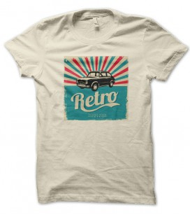 T-shirt Rétro Car, Exclusive design