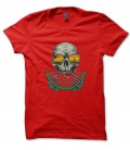 T-Shirt Skull Pastèque, Summer Life, 100% coton BIO