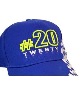 Casquette TWENTY RACING 20 à damier