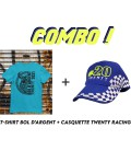 Pack T-shirt + Casquette TWENTY RACING Bol D'Argent 2021