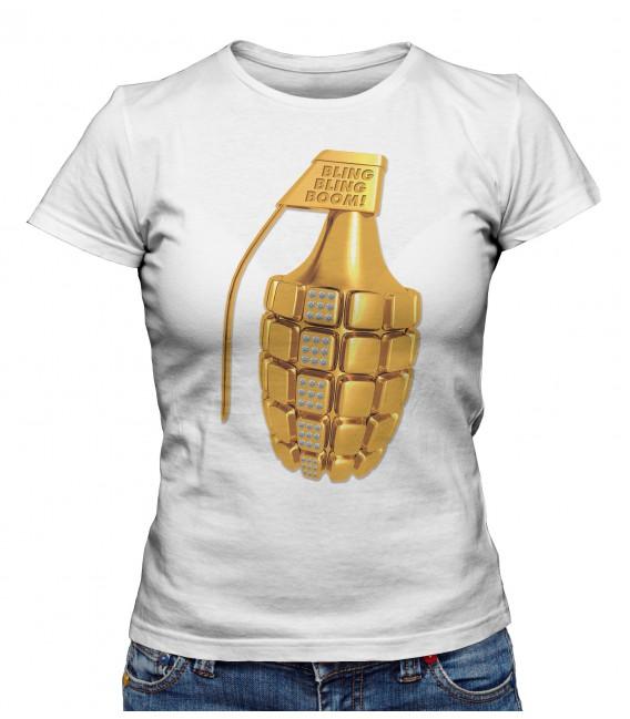 T-shirt Femme Bling Bling Bopm