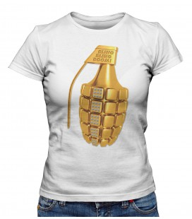 T-shirt Femme Bling Bling Boom