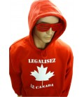 Sweat Shirt Légalisez le Canada