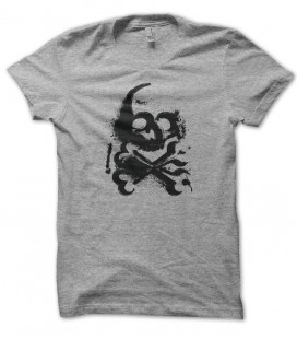 T-shirt Street Art Skull