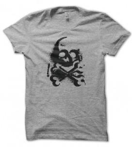 T-shirt Street Art Skull