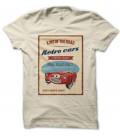 T-shirt vintage King of the Retro Cars Classics