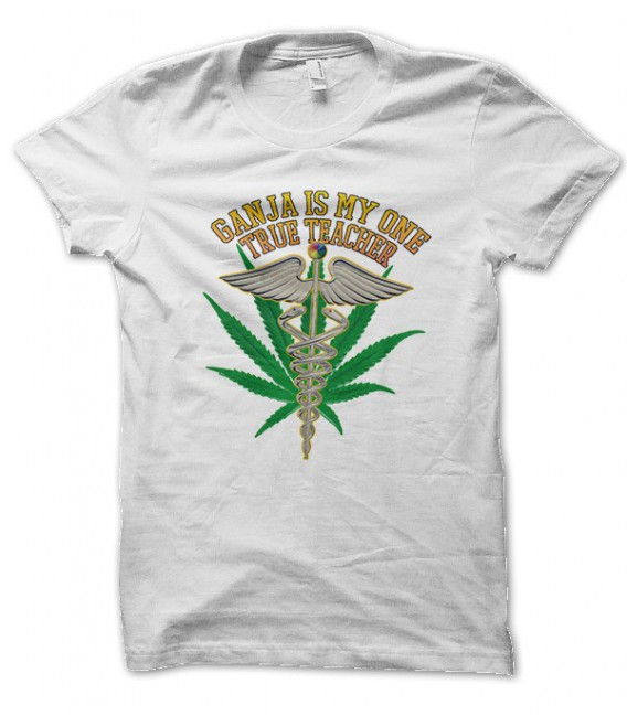 T-shirt Ganja Teacher