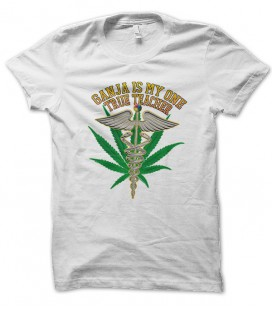 T-shirt Ganja Teacher, Original trademark