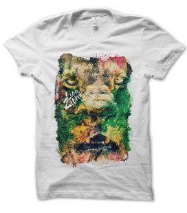 T-shirt Lion Zion WeeD