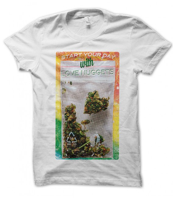 T-shirt Love Weed Nuggets