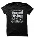 T-shirt Authentic American Custom Motorcycle