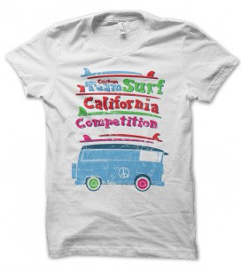 T-shirt Team Surf California Competition