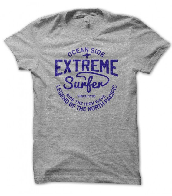 T-shirt Extreme Surfer, Ocean Side