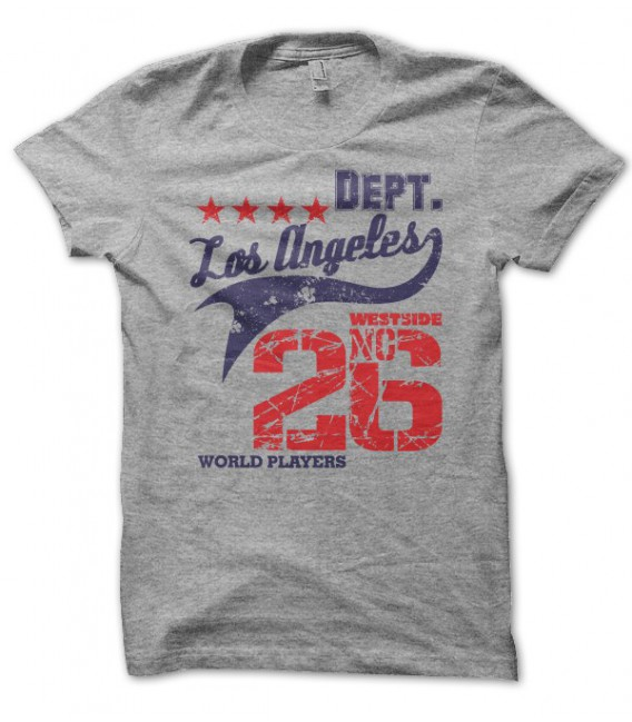 T-shirt World Players, Los Angeles Westside No26