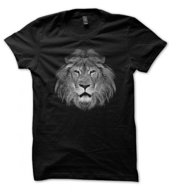 T-shirt Tête de Lion