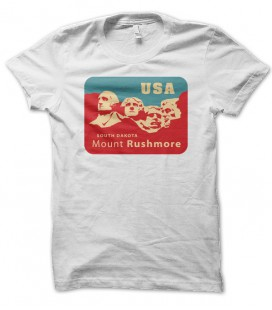 T-shirt Mont Rushmore, USA