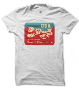 T-shirt Mont Rushmore, USA