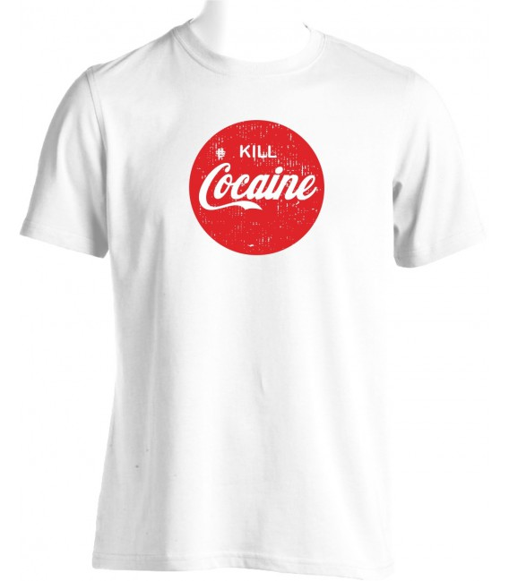 T-shirt Kill Cocaïne