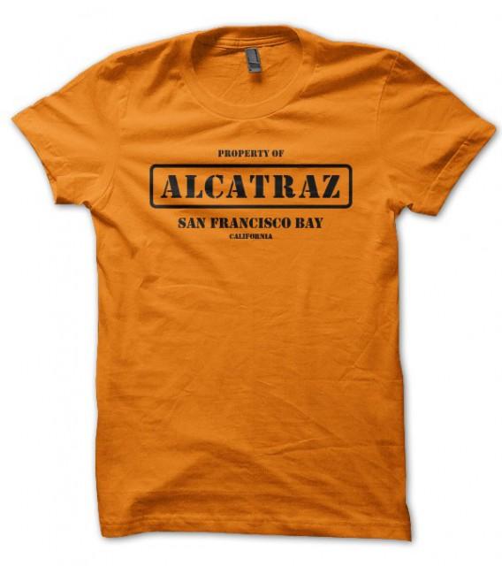 T-shirt Alcatraz, San Franciisco Bay, California