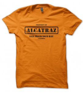 T-shirt Alcatraz, San Francisco Bay, California