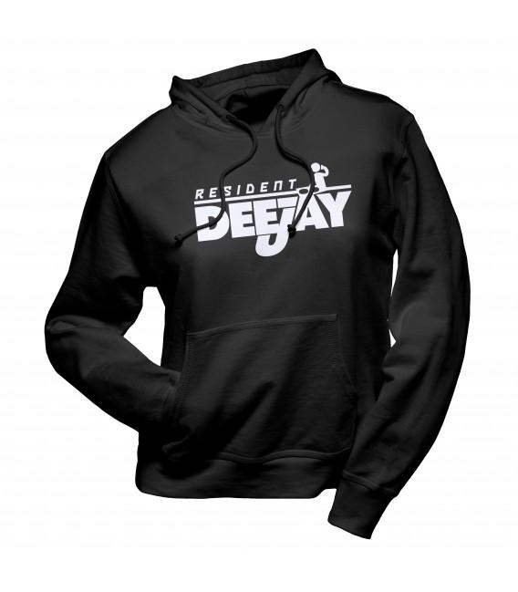 Sweat Shirt Capuche Resident Dee-Jay, DJ