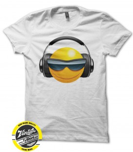 Tee Shirt Original Smiley DeeJay