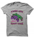 T-shirt Zombie GeeK, Hungry Gamer