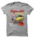 T-shirt Motor Oil Auto Repair Pin UP SexY