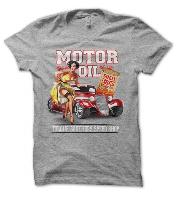Motor Oil Torque Speed shop Pin Up Sexy