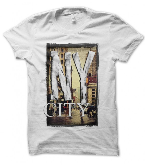 T-shirt New York City Old View