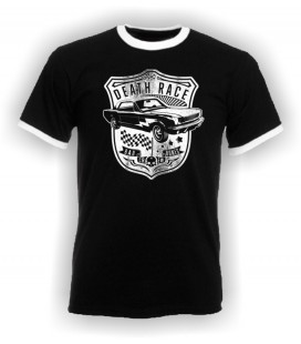T-shirt Death Race, Bad Crew Bones, Vintage Cars