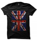 T-shirt God save the Queen, English Flag Punk