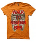 T-shirt Walk to remember, en basket...