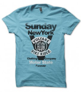 T-shirt Sunday New York, Motor State Outlaw