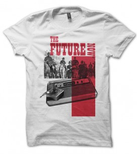 T-shirt The futur is Now, Vintage console Jeux Vidéo