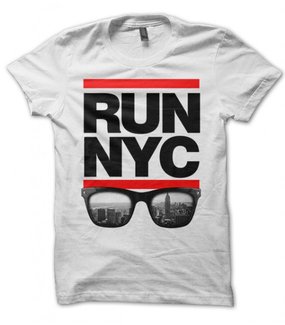 T-shirt RUN New York City