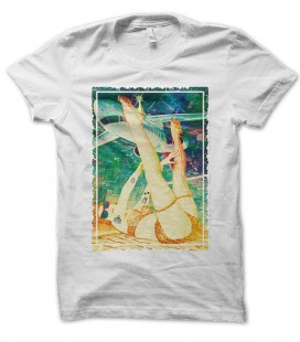 T-shirt Show Girl in Space