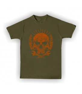 T-shirt HellHead Ride Fast, Live Skull Motors