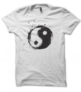 T-shirt Ying Yang Splash