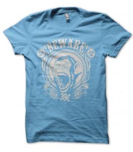 T-shirt Beware Urban Monkey