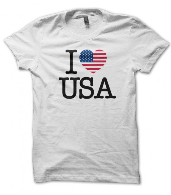 T-shirt I Love USA