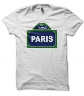 T-shirt panneau arondissement de Paris, France